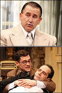<i>Lend Me a Tenor</i> stars Anthony LaPaglia and Justin Bartha with Tony Shalhoub