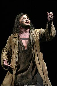 Randal Keith in <I>Les Miserables</I>.