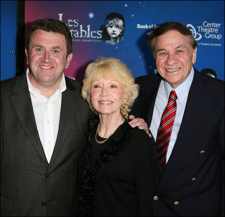 Associate director Anthony Lyn, Elizabeth Sherman and Richard Sherman