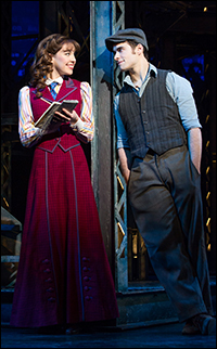 Liana Hunt and Corey Cott