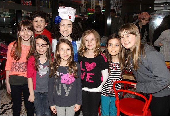 Ava DeMary, Jack Broderick, Bailey Ryon, Sophia Gennusa, Lilla Crawford, Milly Shapiro, Oona Laurence and Emma Howard