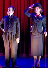 Rob McClure and Jenn Colella in <i>Limelight</i>