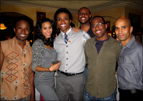 Bongi Duma, Michelle Brugal, L. Steven Taylor, Alvin Crawford, Dashaun Young and Garland Days