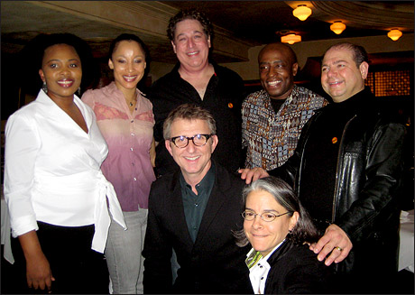 Lindiwe Dlamini, Camille M. Brown, Tom Alan Robbins, Ron Kunene, Danny Rutigliano with Thomas Schumacher and Michele Steckler