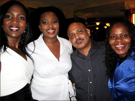 Brenda Mhlongo, Lindiwe Dlamini, Rolando Morales and Tshidi Manye