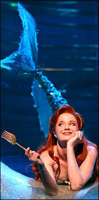 Sierra Boggess as <i>The Little Mermaid</i>