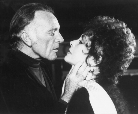Richard Burton and Elizabeth Taylor in Private Lives, 1983.