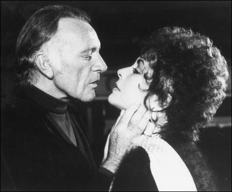 Richard Burton and Elizabeth Taylor in Private Lives, 1983.