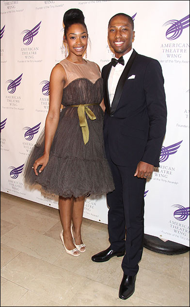 Chantel Riley and Aaron Nelson