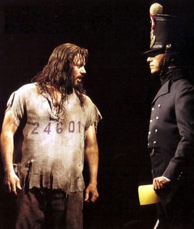 J. Mark McVey and Philip Hernandez on Broadway