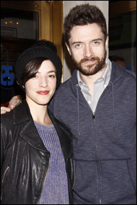 Olivia Thirlby and Topher Grace