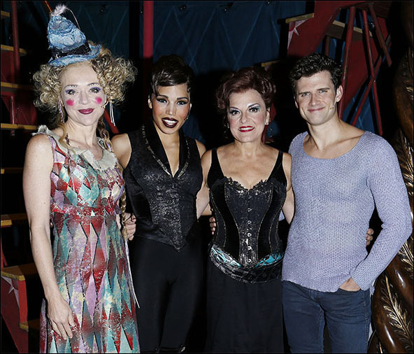 Rachel Bay Jones, Ciara Renée, Priscilla Lopez and Kyle Dean Massey