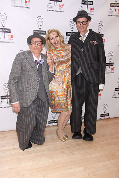 Bill Irwin, Nellie McKay and David Shiner