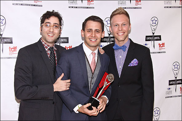 Peter Duchan, Benj Pasek and Justin Paul
