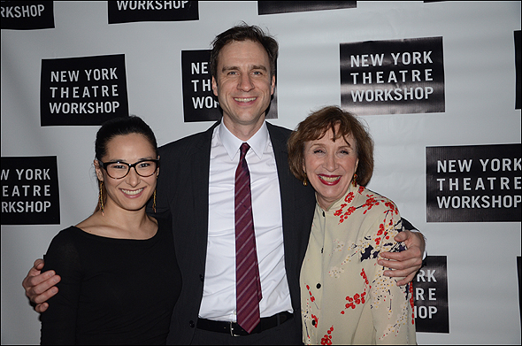 Jennifer Ikeda, James Waterston and Maria Tucci