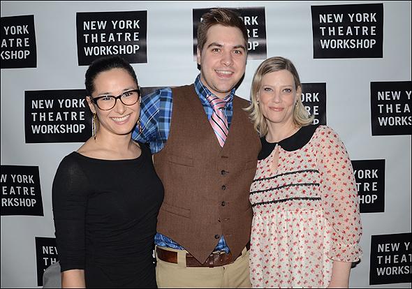 Jennifer Ikeda, Nate Miller and Keillie Overby
