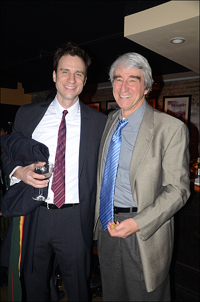 James Waterston and Sam Waterston