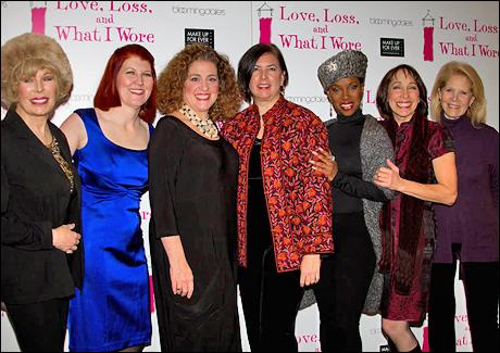 Loretta Swit, Kate Flannery, Mary Testa, Karen Carpenter, Brenda Braxton, Didi Conn and Daryl Roth