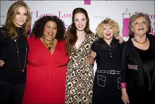 Ally Walker, Erica Watson, Sierra Boggess, Karyn Quackenbush and Joyce van Patten