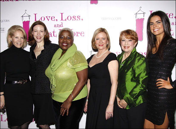 Daryl Roth, Veanne Cox, Lillias White, Eve Plumb, Nancy Dussault and Katie Lee