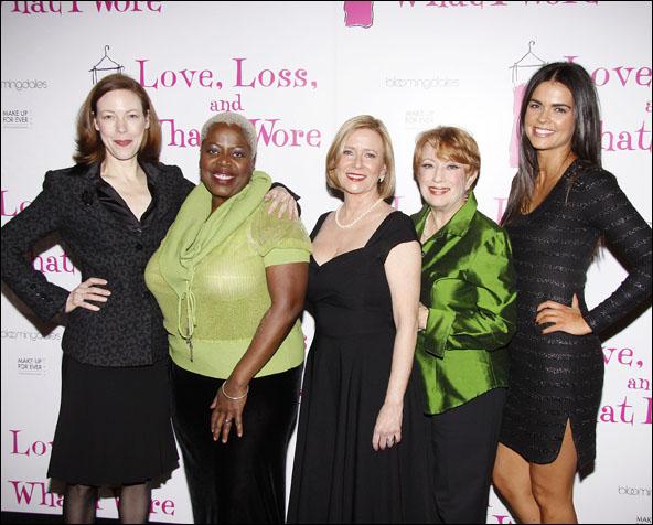 Veanne Cox, Lillias White, Eve Plumb, Nancy Dussault and Katie Lee