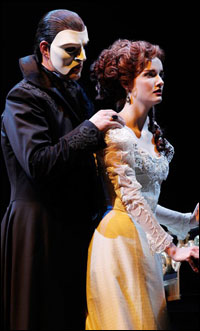 Ben Lewis and Anna O'Byrne in the original Australian production
