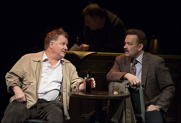 Peter Gerety and Tom Hanks