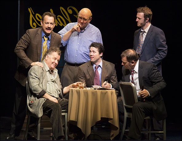Tom Hanks, Peter Gerety and Richard Masur with Dustyn Gulledge, Brian Dykstra and Andrew Hovelson