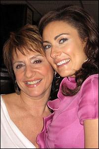 Patti LuPone and Laura Benanti