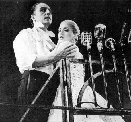 LuPone and Bob Gunton