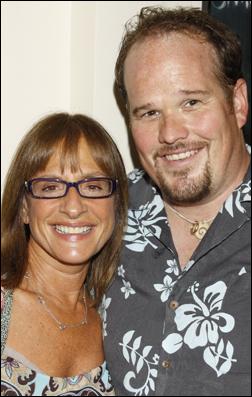 Patti LuPone and Garrett Sorenson