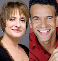 Patti LuPone and Brian Stokes Mitchell