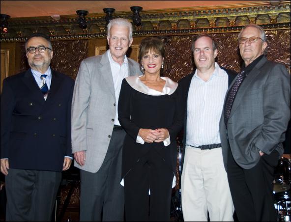 Richard Frankel, Tom Viertel, Patti LuPone, Marc Routh, Steven Baruch