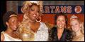 Vanessa Williams and NBA Hall of Famer Chris Mullin at Broadway's Lysistrata Jones