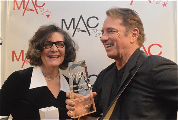 Kristine Zbornik and Tom Wopat