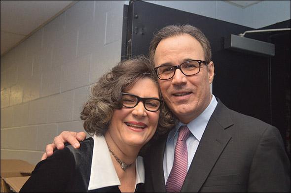 Kristine Zbornik and John Bucchino