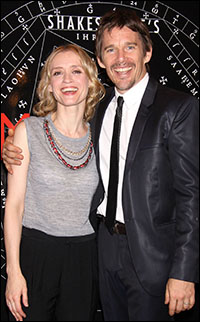 Anne-Marie Duff and Ethan Hawke
