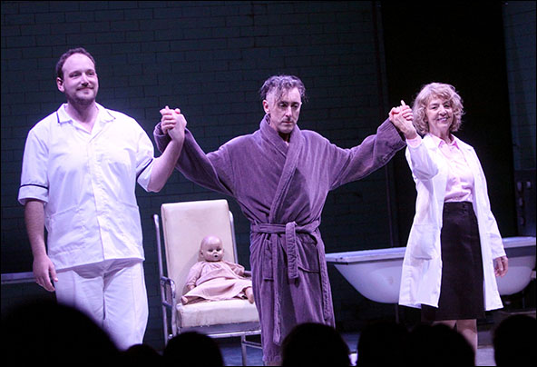 Brendan Titley, Alan Cumming and Jenny Sterlin