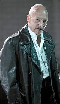 Patrick Stewart in <I>Macbeth.</I>