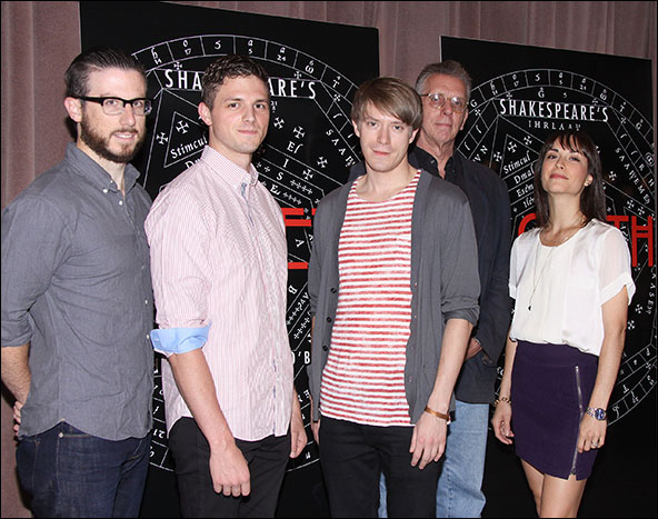 John Patrick Doherty, Tyler Lansing Weaks, Patrick Vaill, Christopher McHale and Stephanie Fieger