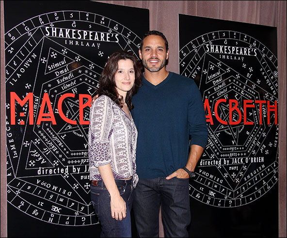 Bianca Amato and Daniel Sunjata