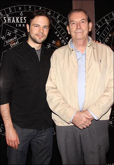 Jonny Orsini and Richard Easton