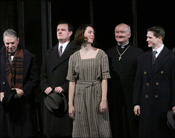 Michael Warner, Michael Cumpsty, Rebecca Hall, Edward James Hyland and Ryan Dinning
