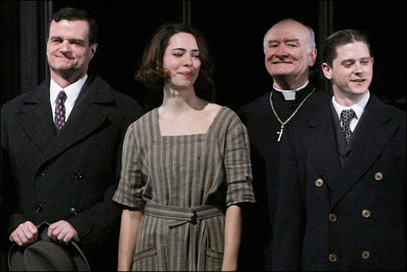 Michael Cumpsty, Rebecca Hall, Edward James Hyland and Ryan Dinning