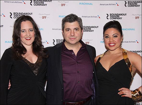 Karen Walsh, Damian Baldet and Maria-Christina Oliveras