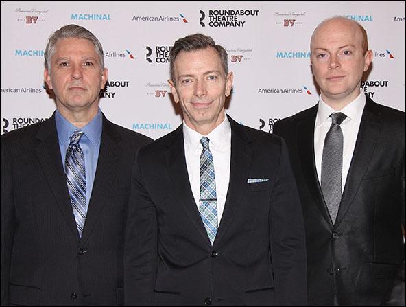 Michael Warner, Arnie Burton and Jeff Biehl