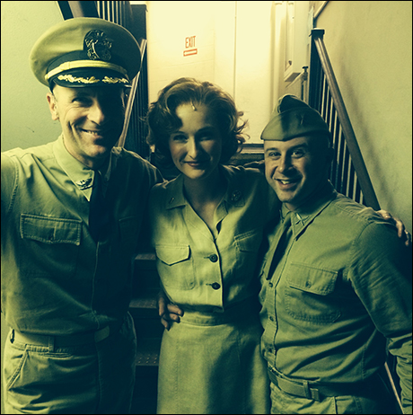 With Grady and Jordan before a second act scene.  Shout out to Jordan for helping me take pictures during the day!! xoxo