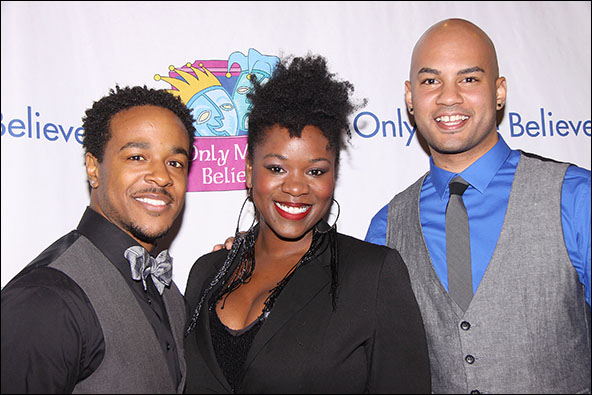Trevon Davis, Moya Angela and Nicholas Christopher