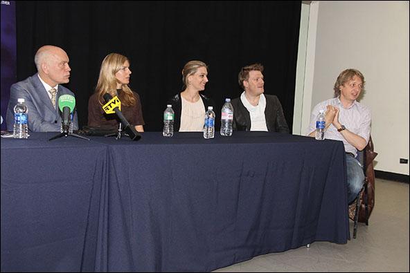 John Malkovich, Sophie Klussman, Kirsten Blaise, Daniel Schmutzhard and Michael Sturminger
