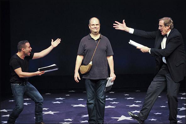 Robin de Jesús, Brad Oscar and Nick Wyman